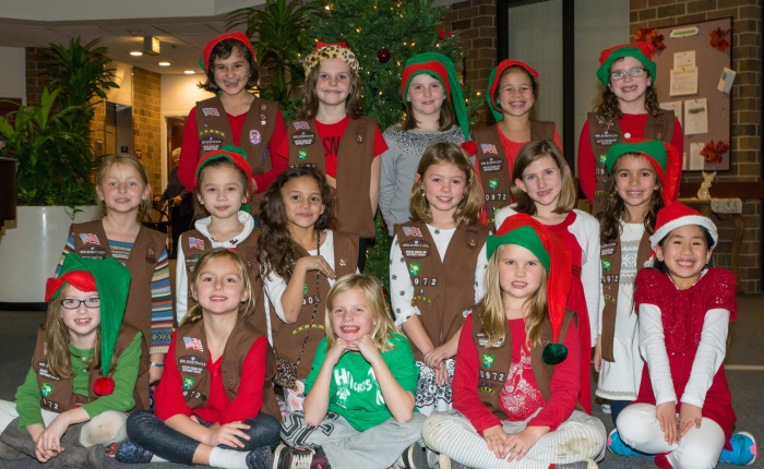 Girl Scouts Spread ChristmasCheer