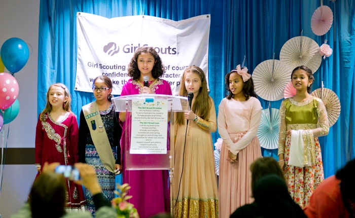 Girl Scouts Honor Mothers with HighTea