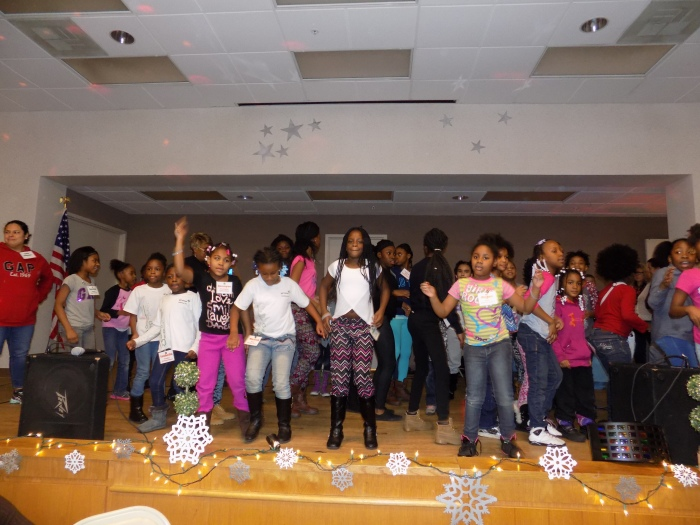 Englewood Girl Scouts Holiday Party Brings Nearly 300 Scouts Together