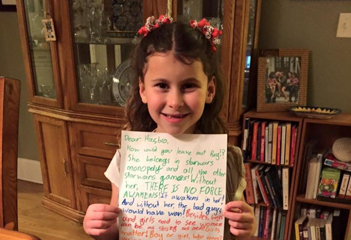 Girl Scout Writes Letter to Hasbro About Missing 'Star Wars' Character