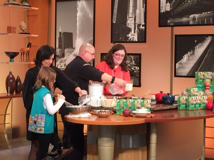 Girl Scouts Help Chef Cesar Create Thin Mint-Inspired Gelato