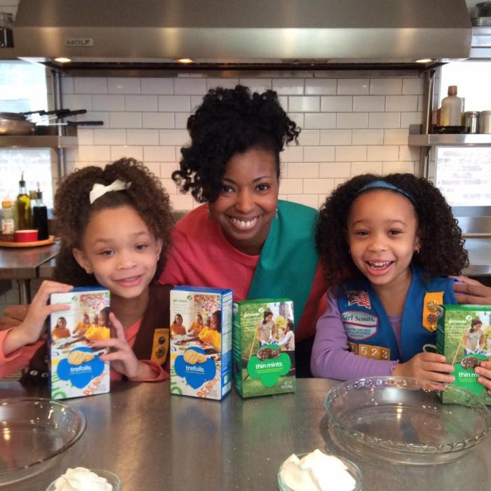 Girl Scout Cookie Fun with GrandbabyCakes