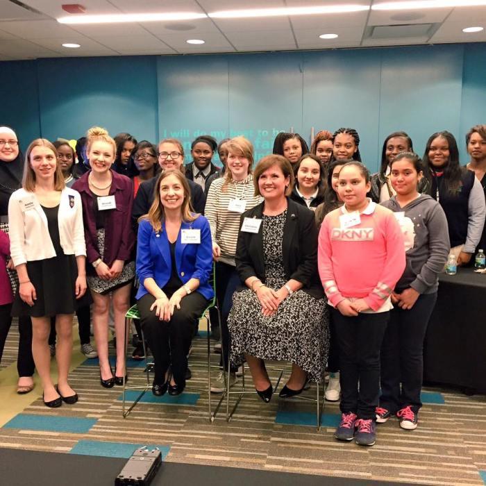 McDonald's, Girl Scouts Hold Leadership Meetup on International Women'sDay