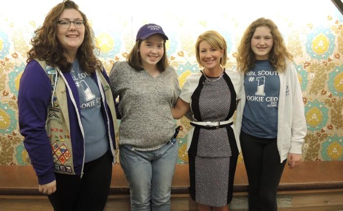 Kellogg Executive Mentors GirlScouts