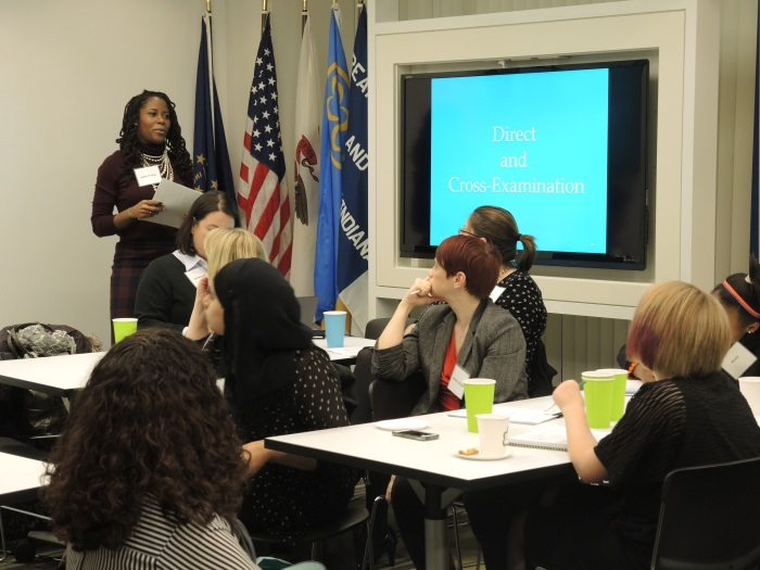 Girl Scouts Learn About Careers in Law at Project LawTrack