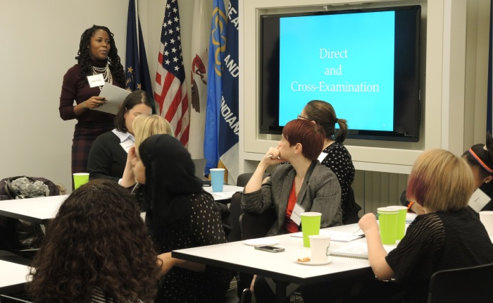 Girl Scouts Learn About Careers in Law at Project Law Track
