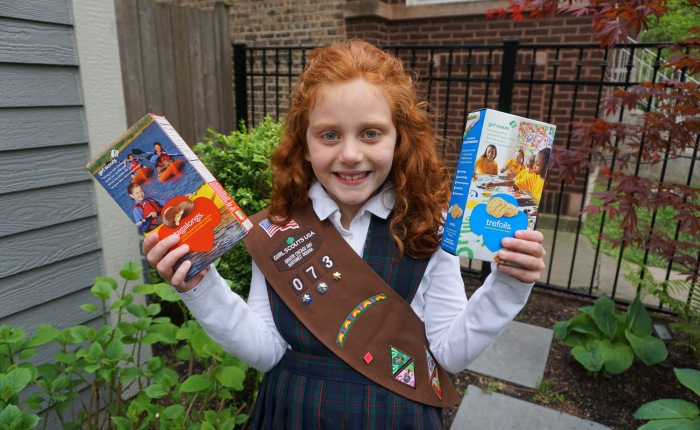 Chicago Girl Scout Sells 13K Boxes ofCookies