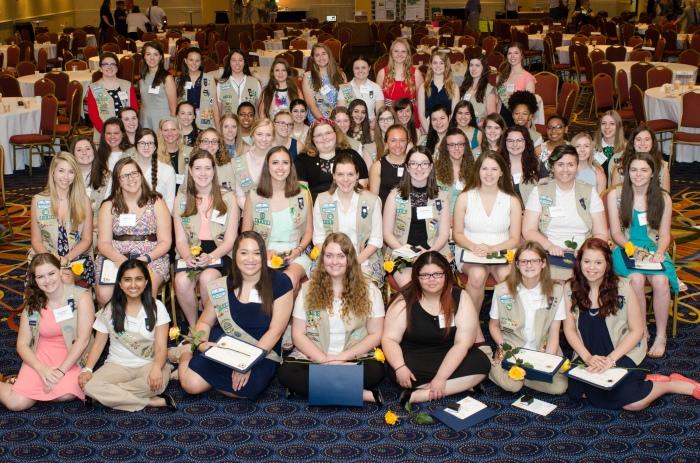 Local Girl Scouts Earn GoldAward