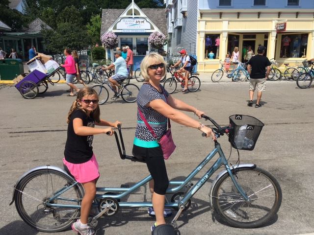 Girl Scouts Visit Mackinac Island