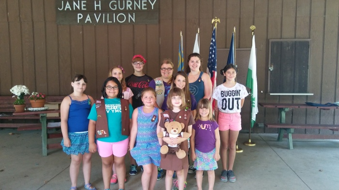 Girl Scouts Enjoy Juliette Day Out