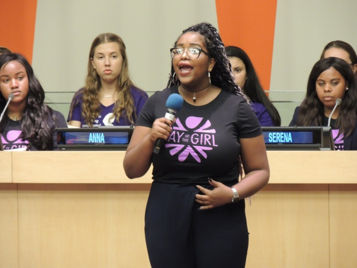 Chicago Girl Scout Delivers Powerful Speech at the United Nations
