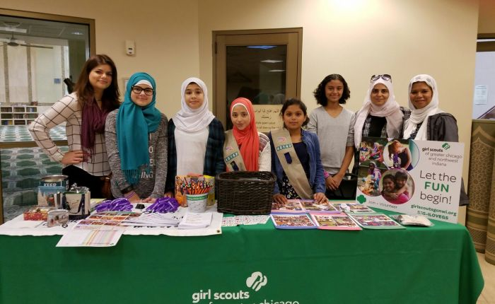 Girl Scouts Welcome Community at Mosque OpenHouse