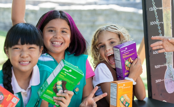 Celebrate 100 Years of Girl Scouts Selling Cookies at the Cookie KickoffRally