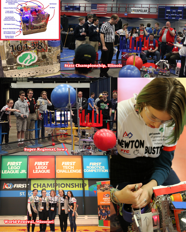 2017_05_01 Girl Scouts Collage FTC Velocity Vortex World Championship