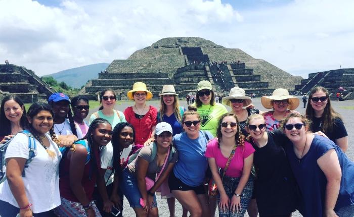Girl Scouts Visit Our Cabaña inMexico
