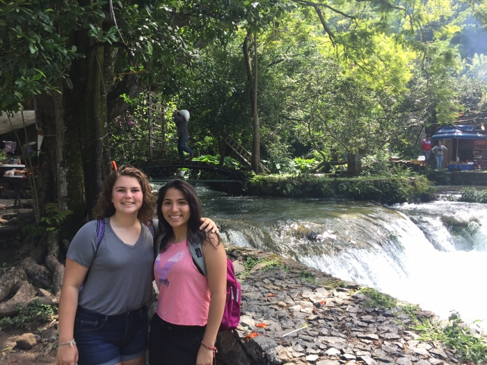 Mexico waterfalls