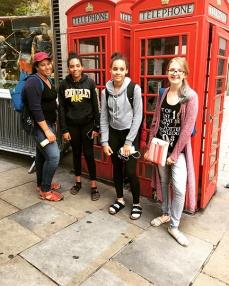 Phoebe and troop in London 2017